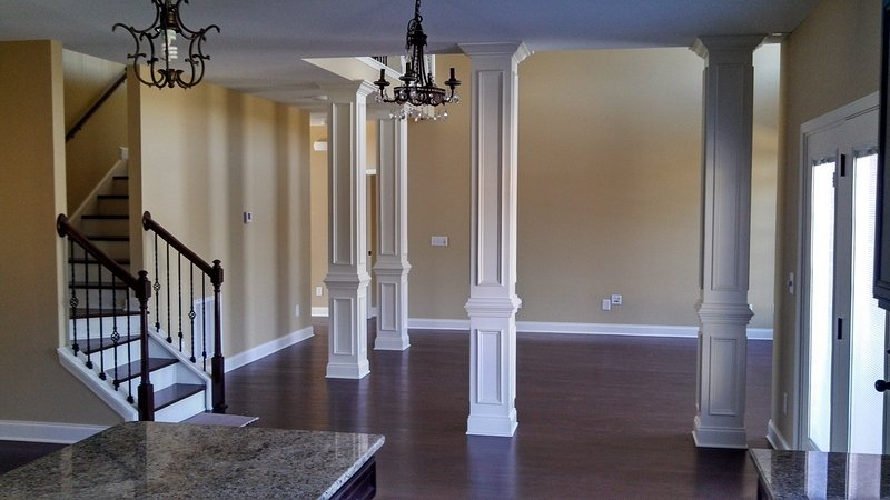 View Full Size · View Slideshow · Share: Interior Trim And Columns