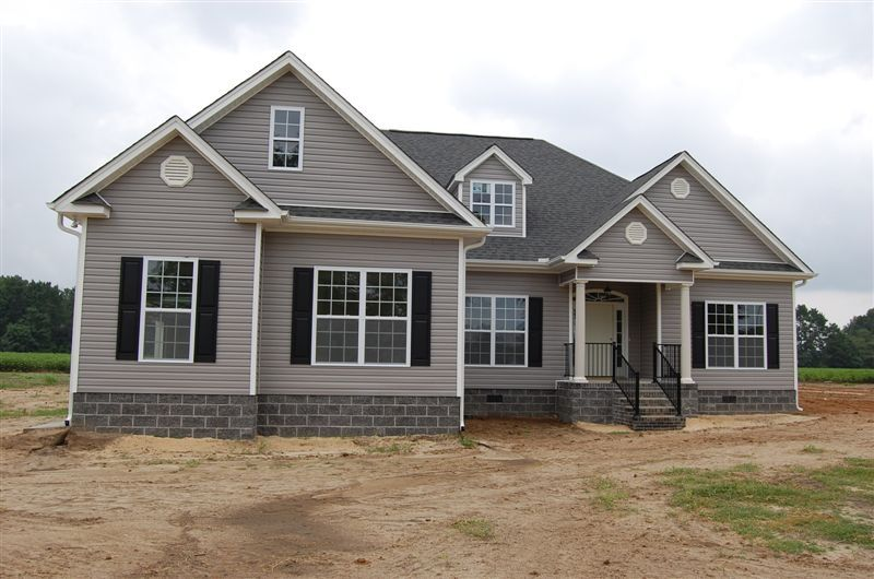 America 39 s home place exterior finish for Americas best home place