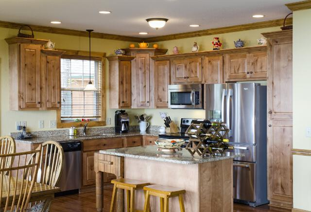 Kitchen Pictures For Nc Mountain Home