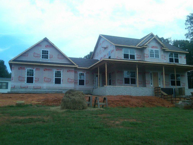 America 39 s home place front exterior housewrap for Americas best home place