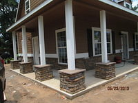 Bartram Porch Columns