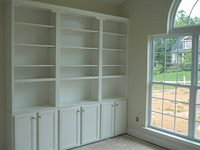 Lexington Custom Built In Shelves
