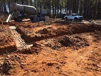 Pouring Footings 2