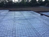 Ready to pour the slab