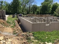 Ashford Concrete Poured Wall Basement