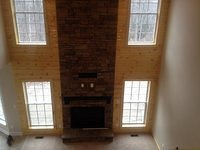Top View Finished Fireplace