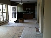 Kitchen/Family Room Dry In
