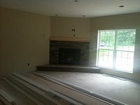 Fireplace/Family Room Dry In