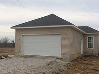 Exterior Garage Finish