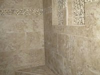 Interior Finish Tile Shower