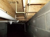Crawl Space and Pipes