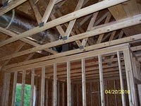 Framing and air duct