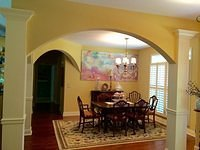 arched dining