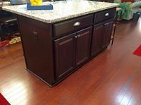 Wildwood kitchen island
