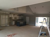 Sheetrock and Cabinets