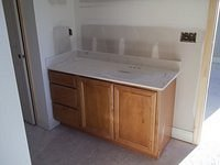 Bell IV A Bathroom Counter Top Installed 58