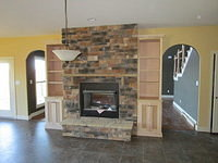 Brown Job # 614001 - Stone Fireplace (Done)