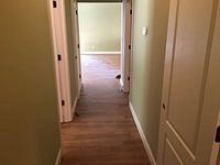 Hallway to Master Bedroom