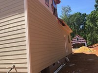 Back of House Siding and Soffits