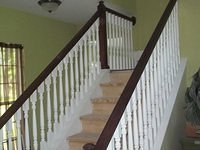 Stained Handrails