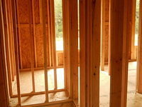 Framing Interior bedrooms
