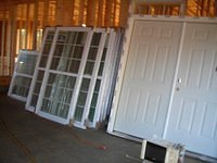 Installing doors and Exterior window