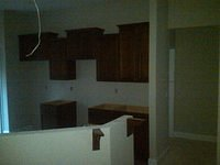Bell III Kitchen cabinets unfinished