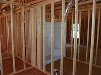 Framing 2 shower