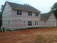 Rear Exterior Housewrap