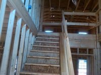 Kennsington stairs framing