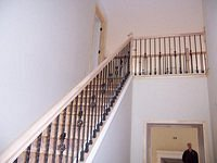 Kennsington wrought iron stairs